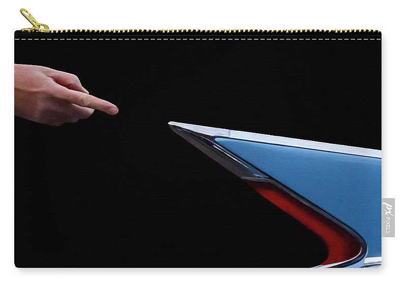 Michelangelo Carry-all Pouch featuring the photograph Creation Of Caddy by Guy Shultz