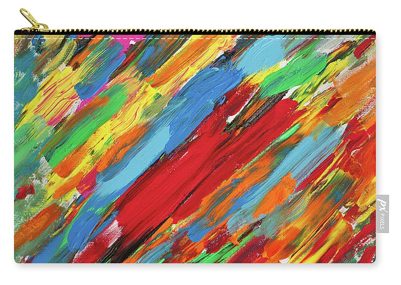 Music Carry-all Pouch featuring the painting Crescendo by Bjorn Sjogren