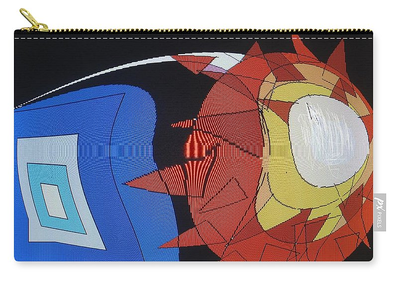 Abstract Carry-all Pouch featuring the digital art Crescendo One by Ian MacDonald