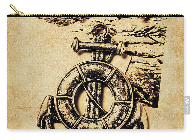 Sailing Carry-all Pouch featuring the photograph Crest Of Oceanic Adventure by Jorgo Photography - Wall Art Gallery