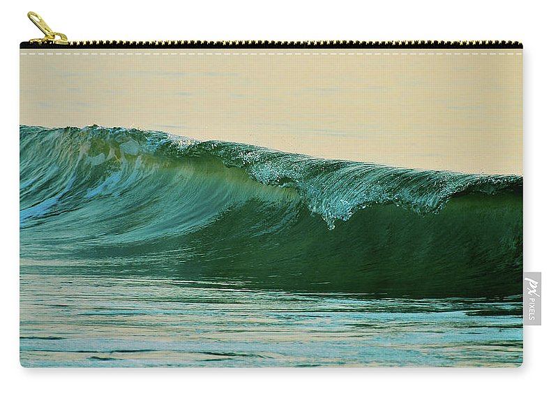 Breaking Carry-all Pouch featuring the photograph Cresting by JAMART Photography