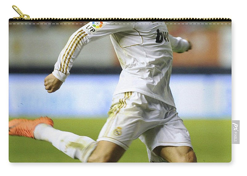 Spain Carry-all Pouch featuring the photograph Cristiano Ronaldo 2 by Rafa Rivas