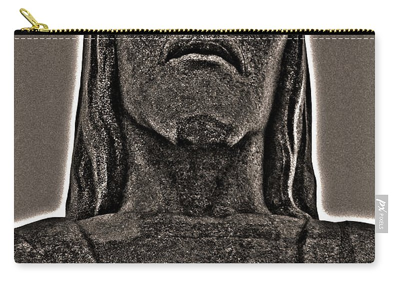 South America Carry-all Pouch featuring the photograph Cristo Redentor - Rio De Janeiro by Juergen Weiss