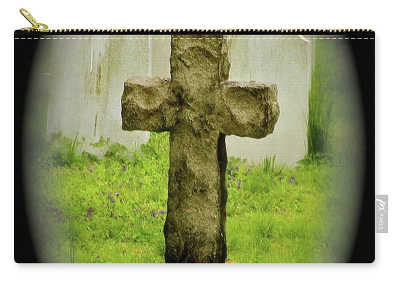Cross Carry-all Pouch featuring the photograph Cross by Rick Monyahan