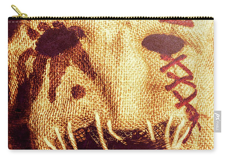 Old Carry-all Pouch featuring the photograph Crows For The Eating by Jorgo Photography - Wall Art Gallery