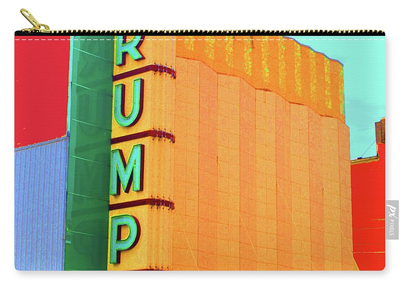 Crump Carry-all Pouch featuring the photograph Crump Color by Jost Houk
