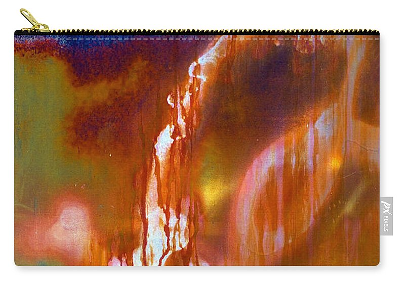 Skip Carry-all Pouch featuring the photograph Cry Me A River by Skip Hunt