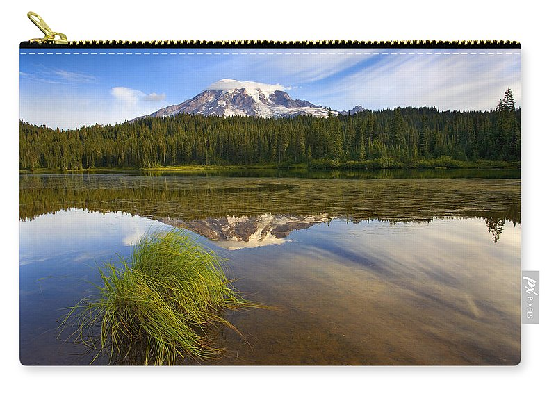 Lake Carry-all Pouch featuring the photograph Crystal Clear by Mike Dawson