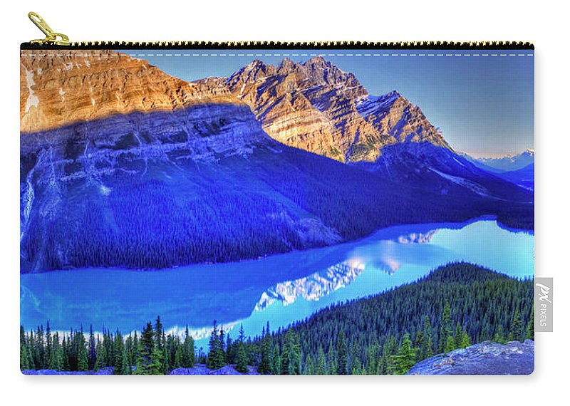 Lake Carry-all Pouch featuring the photograph Crystal Lake by Scott Mahon