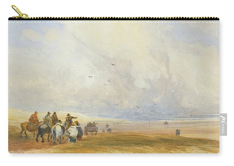 David Cox Carry-all Pouch featuring the painting Cumbria by MotionAge Designs