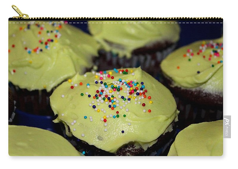 Cupcakes Carry-all Pouch featuring the photograph Cupcakes by Michiale Schneider