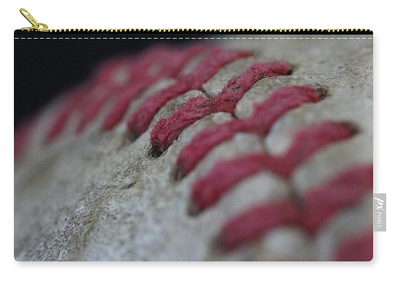 Digital Carry-all Pouch featuring the photograph Curve by Jeff Roney