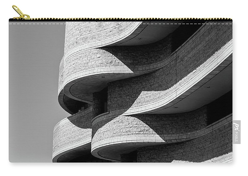 Architecture Carry-all Pouch featuring the photograph Curves by Ivan Urbina