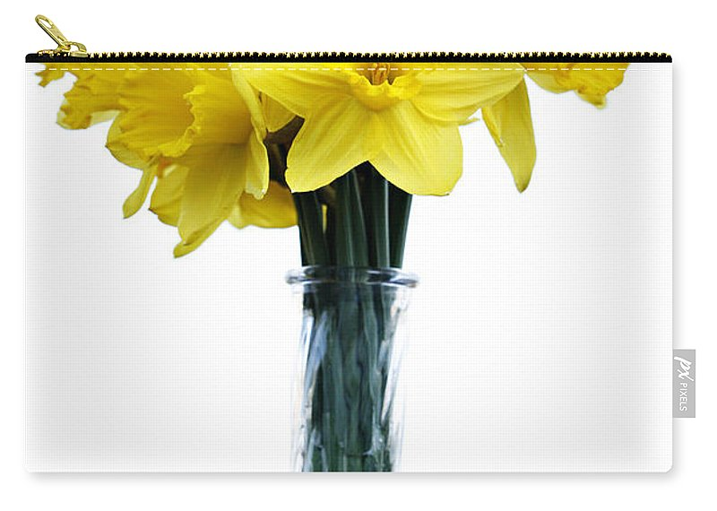 Daffodil Carry-all Pouch featuring the photograph Daffodil by Marilyn Hunt