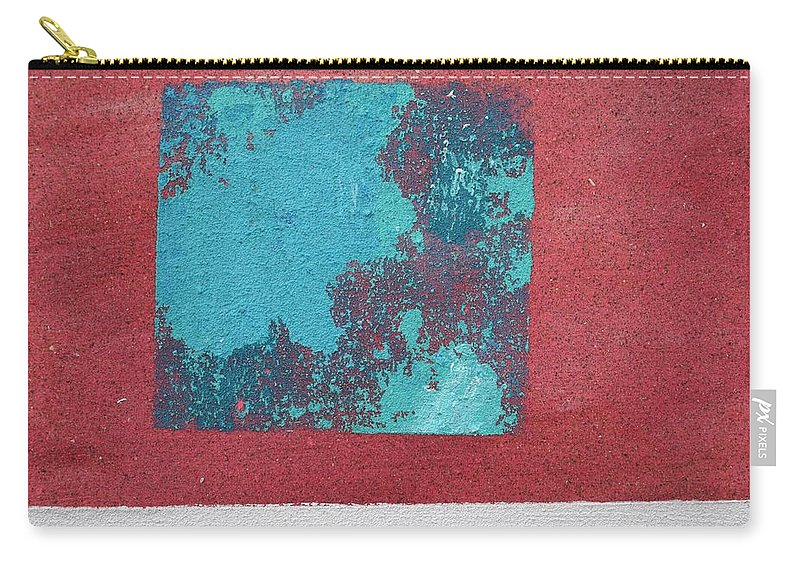 Sandpainting Carry-all Pouch featuring the painting Daily Abstraction 218022001 by Eduard Meinema