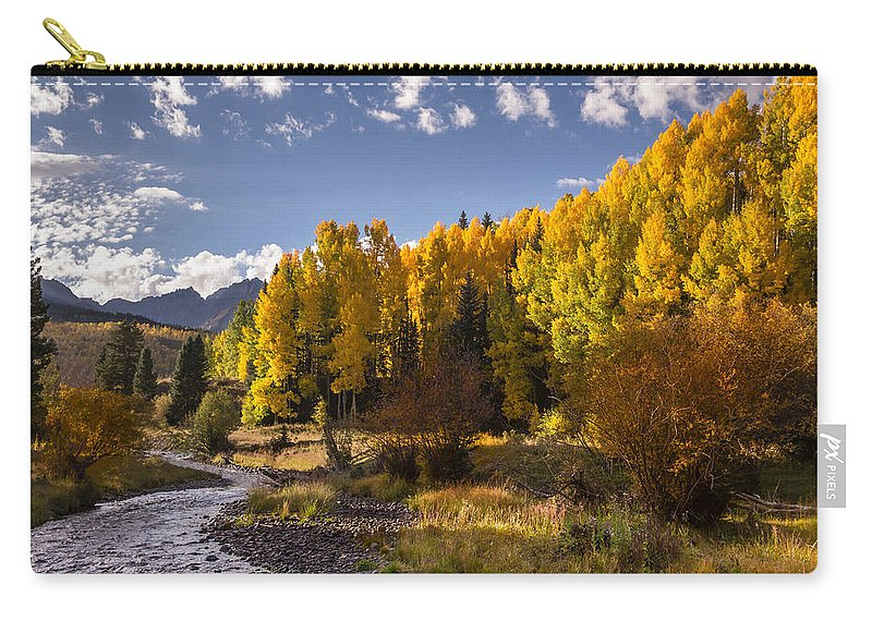 Dallas Divide Carry-all Pouch featuring the photograph Dallas Creek by Jonathan Steele