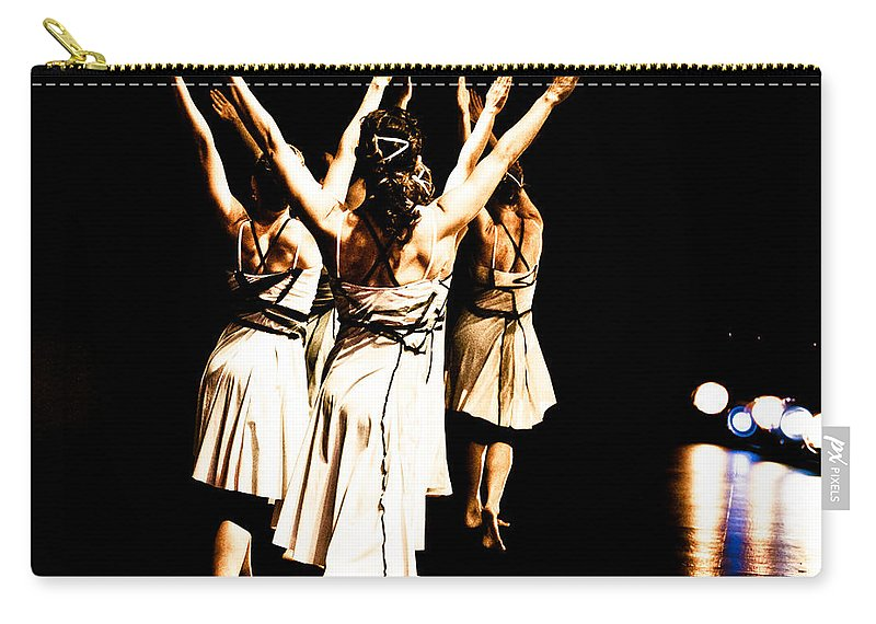 Dance Carry-all Pouch featuring the photograph Dance - Y by Scott Sawyer
