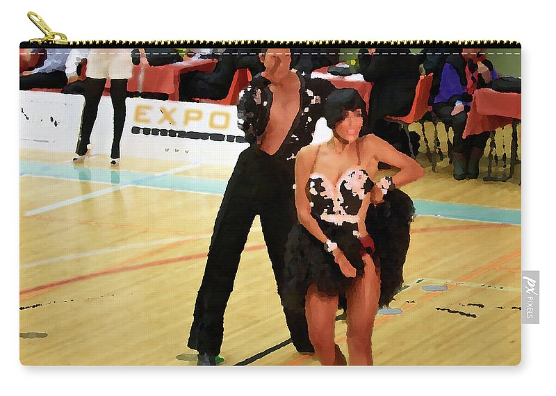 Lehtokukka Carry-all Pouch featuring the photograph Dance Contest Nr 02 by Jouko Lehto