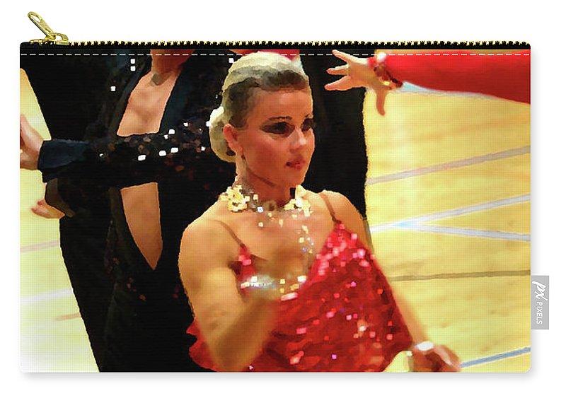 Lehtokukka Carry-all Pouch featuring the photograph Dance Contest Nr 04 by Jouko Lehto