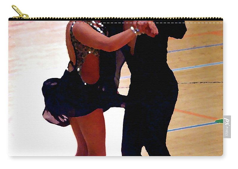 Lehtokukka Carry-all Pouch featuring the photograph Dance Contest Nr 05 by Jouko Lehto