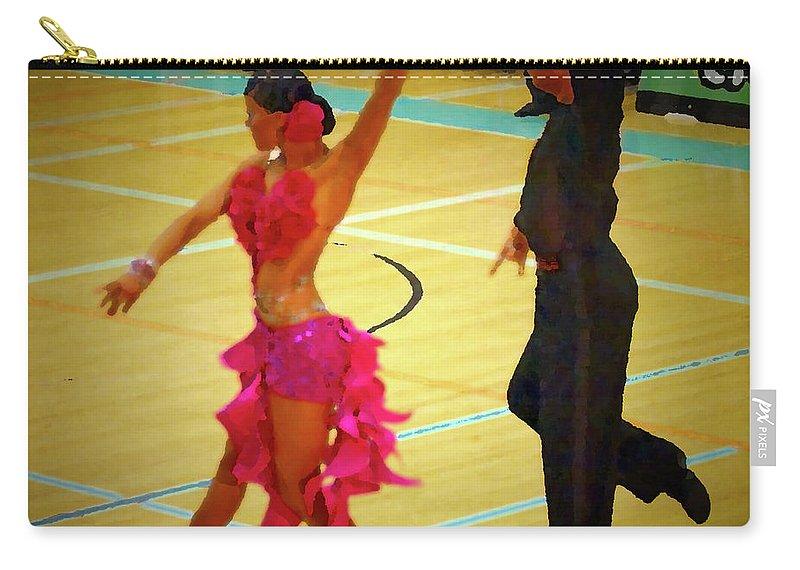 Lehtokukka Carry-all Pouch featuring the photograph Dance Contest Nr 06 by Jouko Lehto