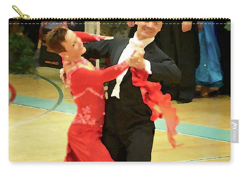 Lehtokukka Carry-all Pouch featuring the photograph Dance Contest Nr 09 by Jouko Lehto