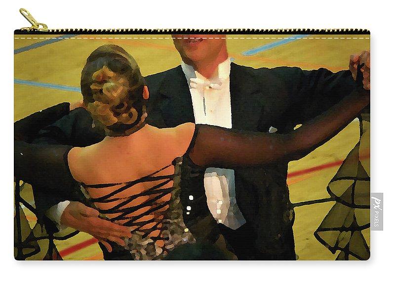 Lehtokukka Carry-all Pouch featuring the photograph Dance Contest Nr 10 by Jouko Lehto