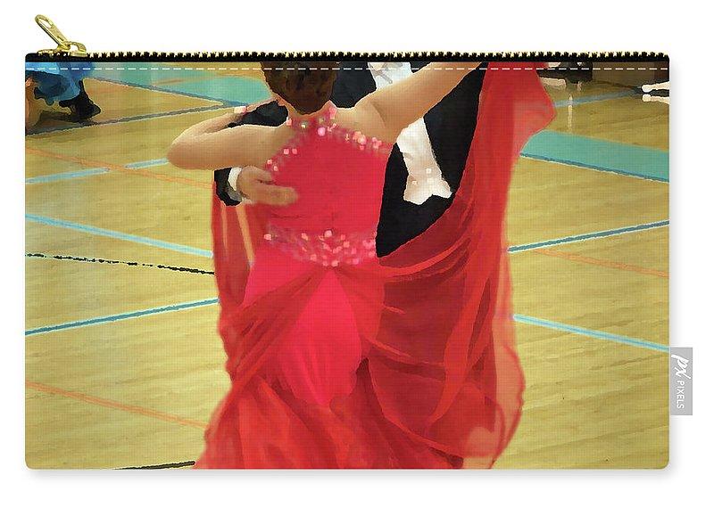 Lehtokukka Carry-all Pouch featuring the photograph Dance Contest Nr 11 by Jouko Lehto
