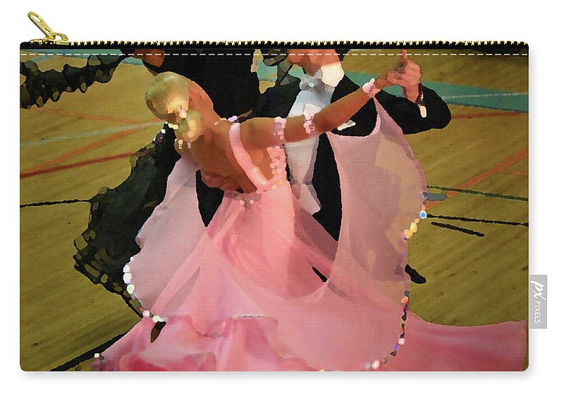 Lehtokukka Carry-all Pouch featuring the photograph Dance Contest Nr 13 by Jouko Lehto