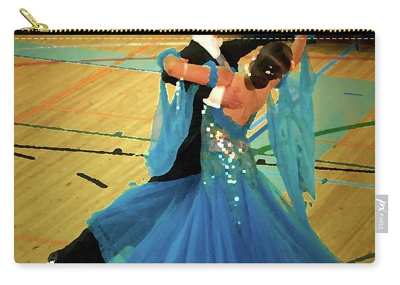 Lehtokukka Carry-all Pouch featuring the photograph Dance Contest Nr 14 by Jouko Lehto