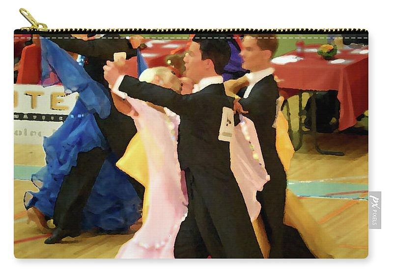 Lehtokukka Carry-all Pouch featuring the photograph Dance Contest Nr 18 by Jouko Lehto