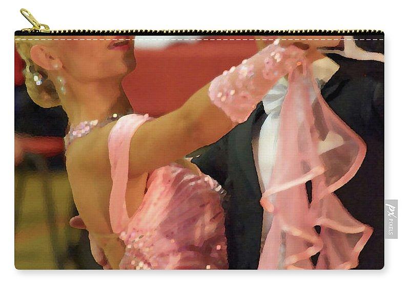 Lehtokukka Carry-all Pouch featuring the photograph Dance Contest Nr 19 by Jouko Lehto