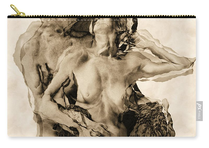 Lovers Carry-all Pouch featuring the photograph Dance by Kurt Van Wagner