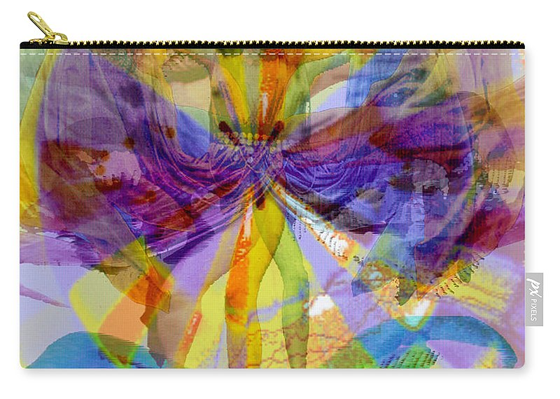Dance Of The Rainbow Carry-all Pouch featuring the digital art Dance Of The Rainbow by Seth Weaver