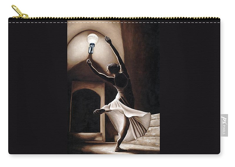 Dance Carry-all Pouch featuring the painting Dance Seclusion by Richard Young