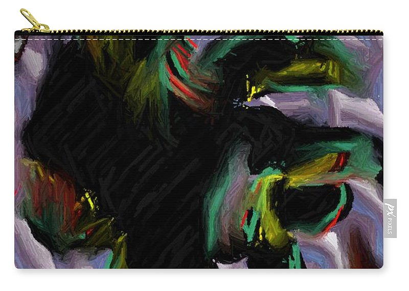 Digital Art Carry-all Pouch featuring the digital art Dancer by Ron Bissett