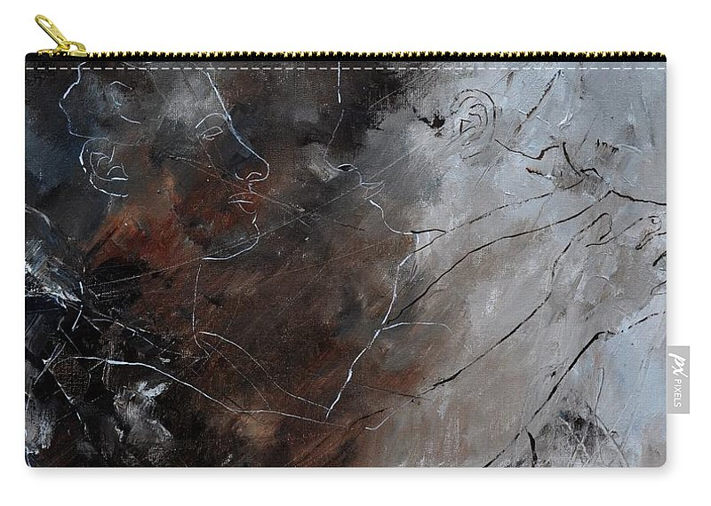 Dance Carry-all Pouch featuring the painting Dancers by Pol Ledent
