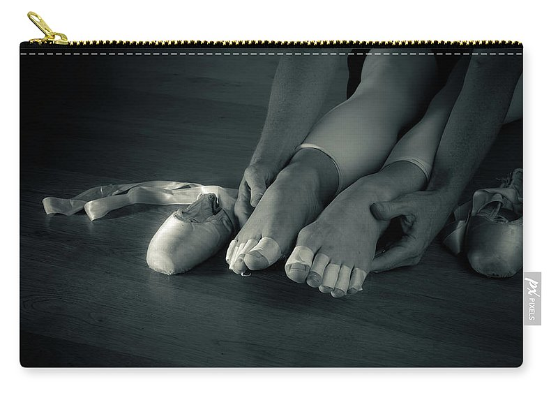 Ballet Carry-all Pouch featuring the photograph Dancers Sacrifice by Scott Sawyer