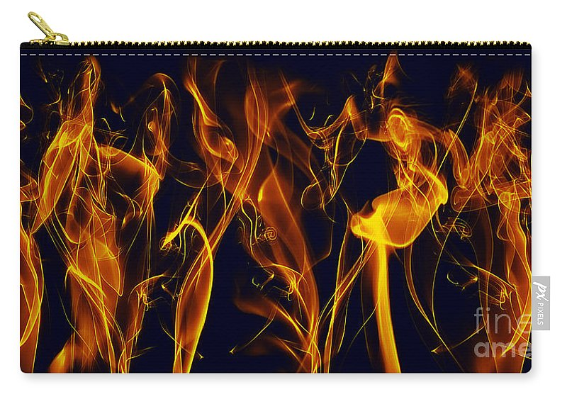 Clay Carry-all Pouch featuring the digital art Dancing by Clayton Bruster