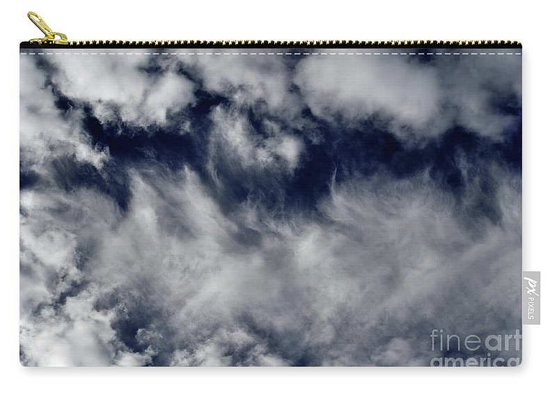 Clay Carry-all Pouch featuring the photograph Dancing Clouds by Clayton Bruster
