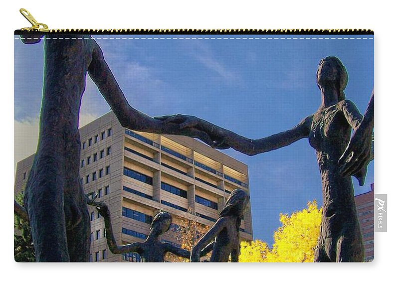 People Carry-all Pouch featuring the photograph Dancing In The Park by Greg Hammond