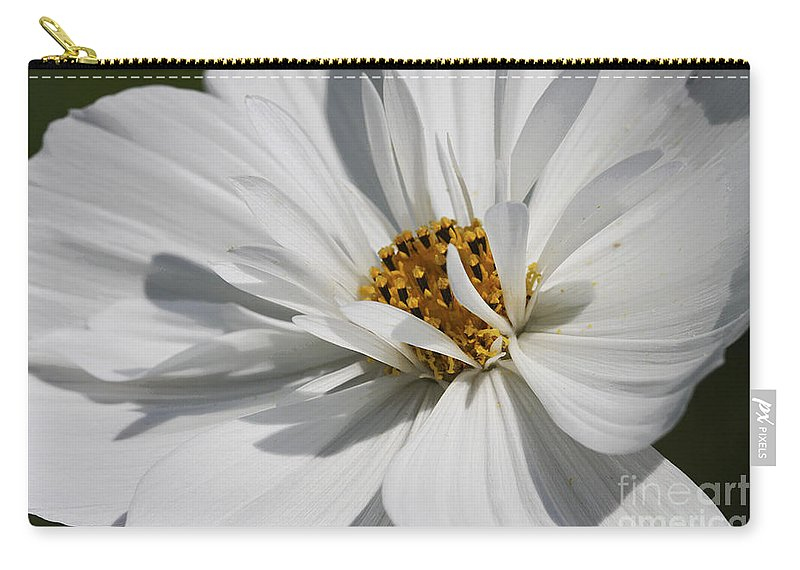 Macro Carry-all Pouch featuring the photograph Dancing In The Summner Breeze by Deborah Benoit