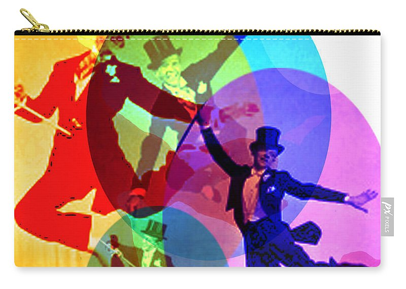 Dancing On Air Carry-all Pouch featuring the digital art Dancing on Air by Seth Weaver