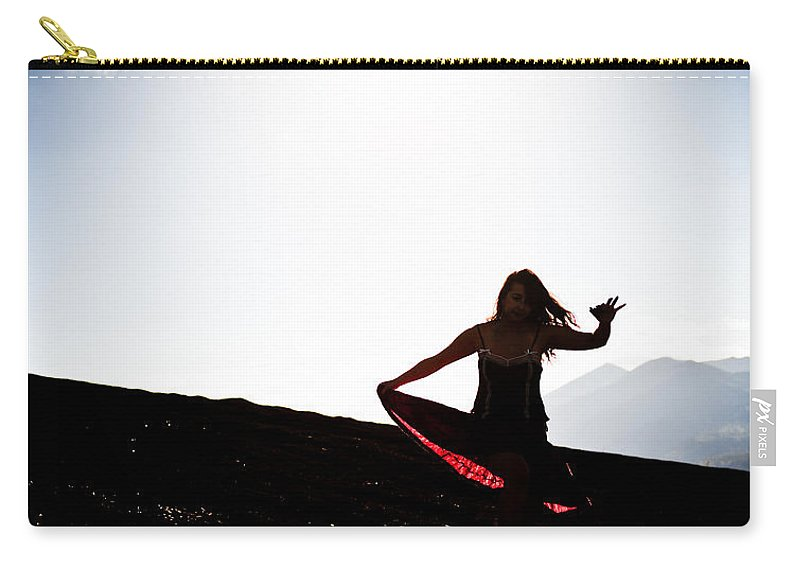Dance Carry-all Pouch featuring the photograph Dancing by Scott Sawyer