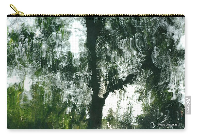Water Carry-all Pouch featuring the photograph Dancing Trees by Donna Blackhall