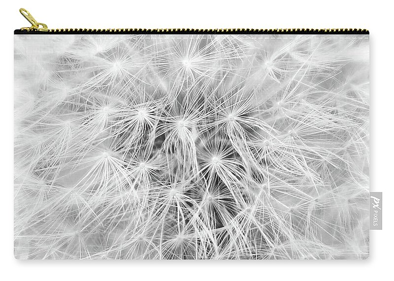 Dandelion Carry-all Pouch featuring the photograph Dandelion by Erin Donalson