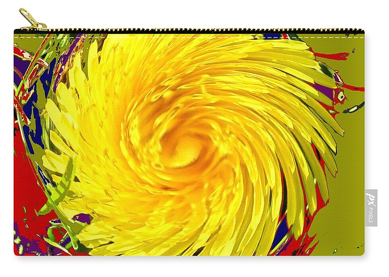 Flower Carry-all Pouch featuring the photograph Dandy Three by Ian MacDonald