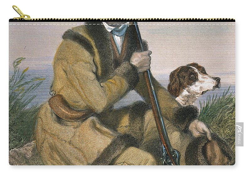 18th Century Carry-all Pouch featuring the photograph Daniel Boone (1734-1820) by Granger
