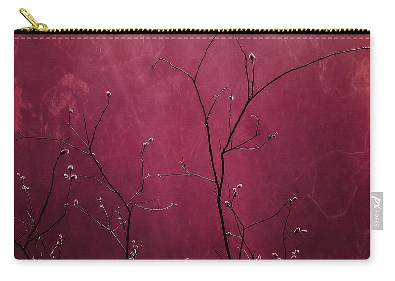 Pink Carry-all Pouch featuring the photograph Daring Pink by Priska Wettstein