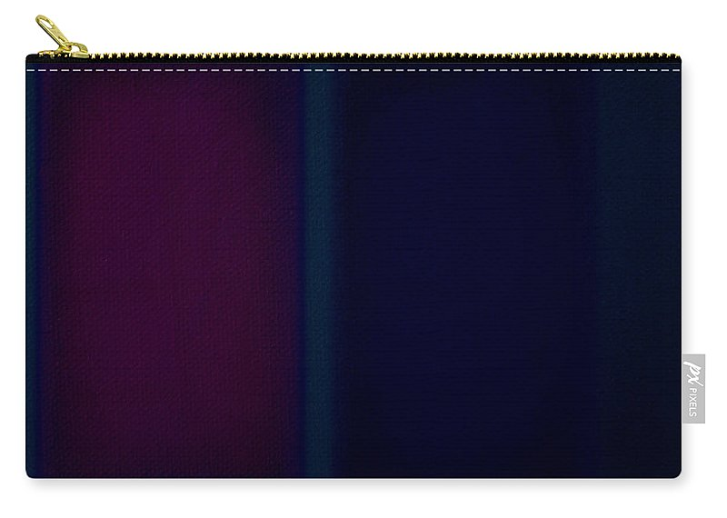 Rothko Carry-all Pouch featuring the painting Dark Blue by Charles Stuart